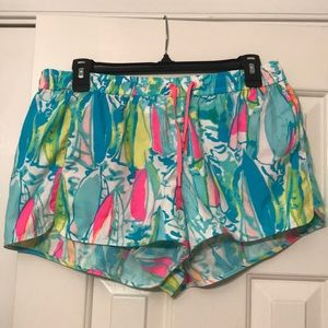 Lilly Pulitzer Beach and Bae Luxletic Shorts